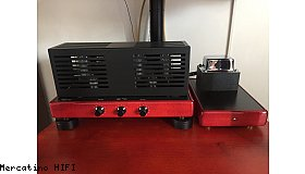 Amplificatore integrato a valvole due telai Synthesis 50 W